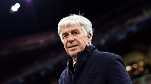 Главный тренер Аталанты Джанпьеро Гасперини