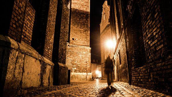 Улочка в Старом городе в Праге