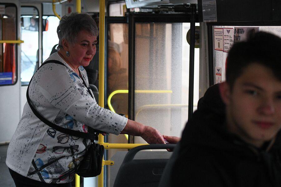 Валентина Павловна Скирута, кондуктор троллейбуса