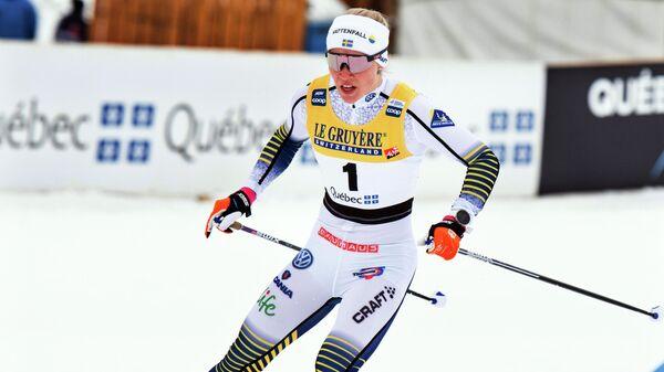 Шведская лыжница Йонна Сундлинг