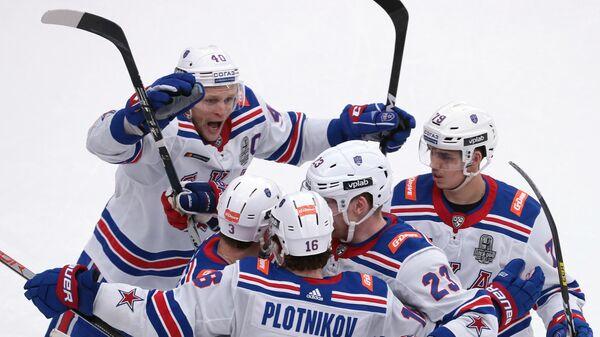 Хоккей. КХЛ. Матч Витязь - СКА