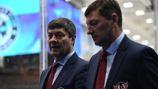 Андрей Мартемьянов (слева) и  Константин Шафранов