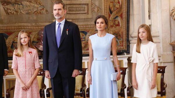 Члены королевской семьи Испании