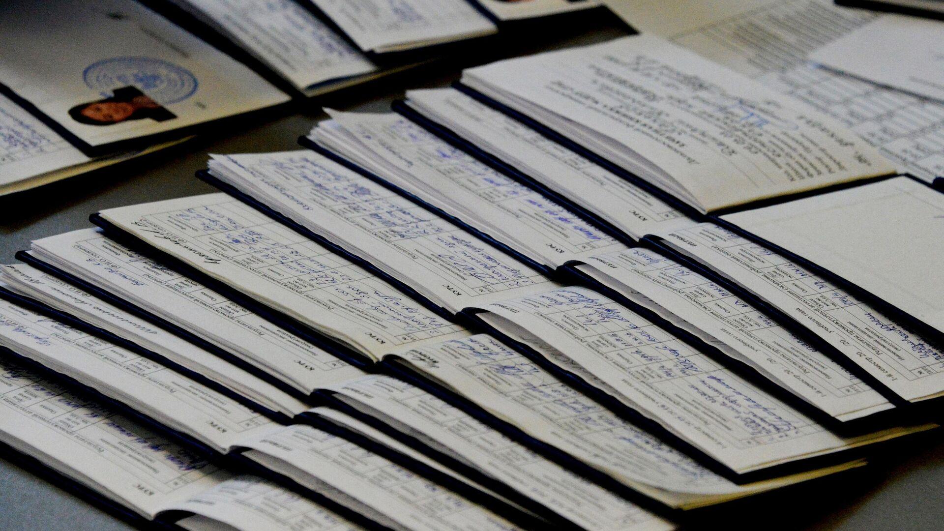 Сдача экзаменов зимней сессии в Дальневосточном федеральном университете - РИА Новости, 1920, 17.11.2020