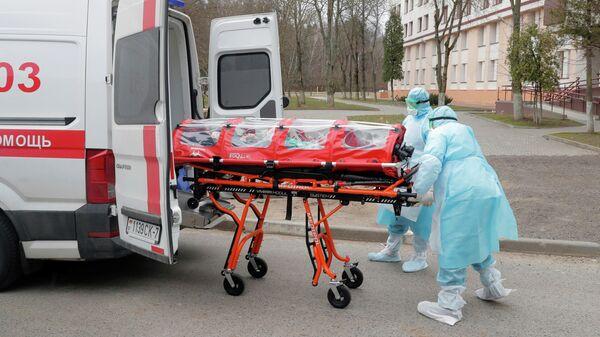 Госпитализация женщины в Минске
