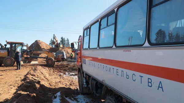 Строительство новой инфекционной больницы в Новой Москве
