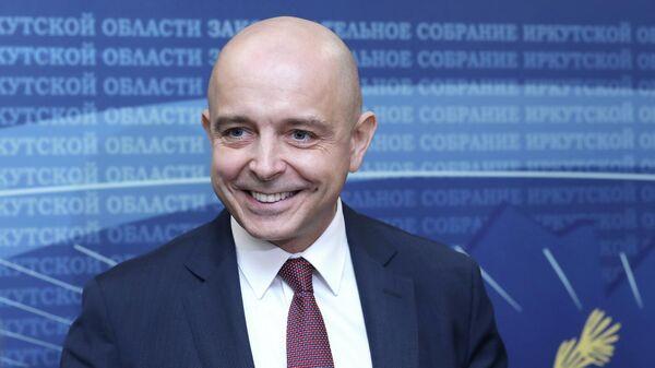 Председатель Законодательного собрания Иркутской области Сергей Сокол