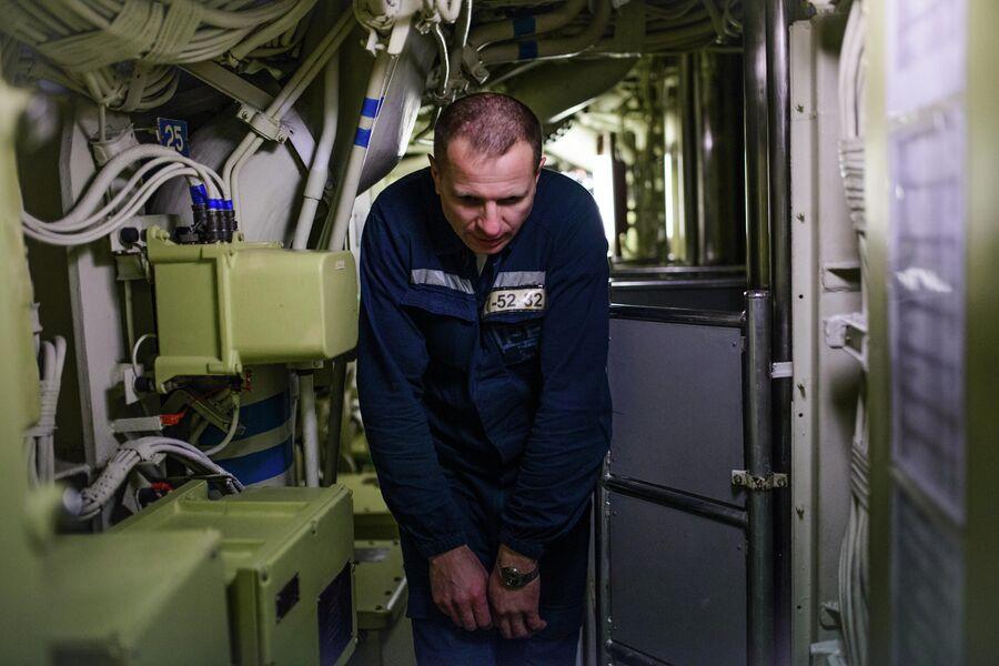 Член экипажа атомной подводной лодки Северодвинск
