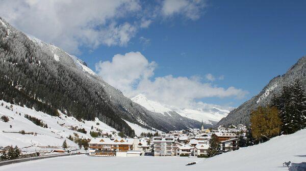 Австрийский горнолыжный курорт Ишгль
