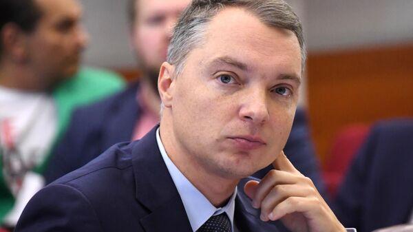 Член Московской городской избирательной комиссии Дмитрий Реут