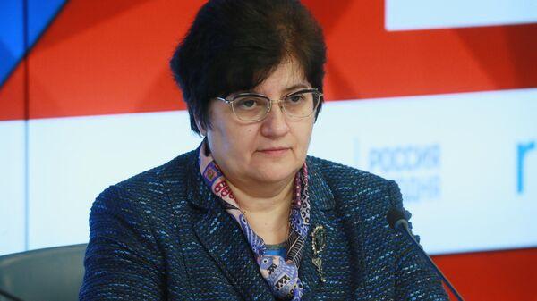 Специальный представитель ВОЗ в Российской Федерации Мелита Вуйнович