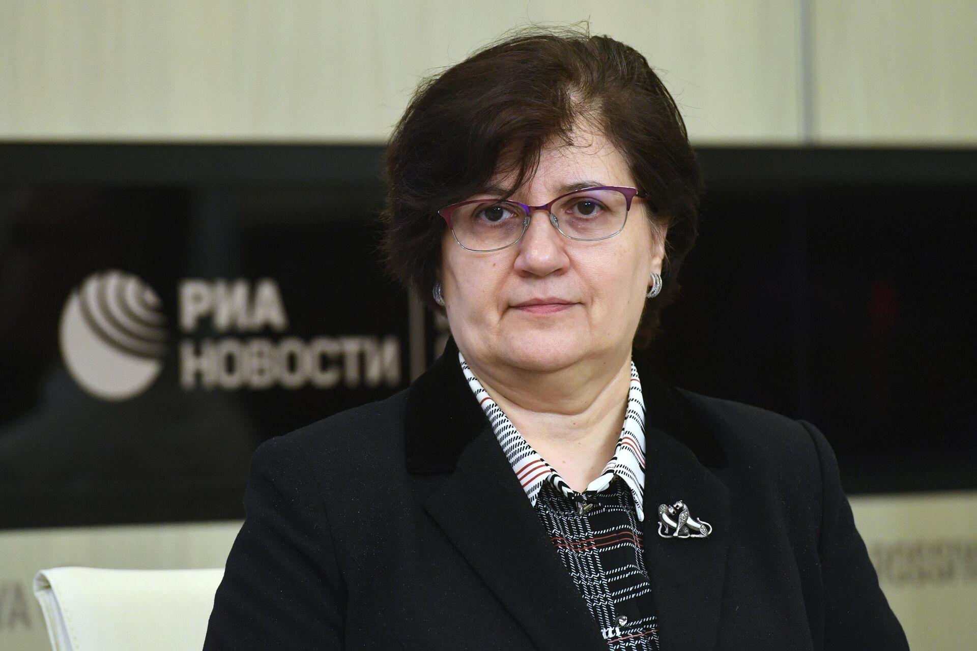 Представитель Всемирной организации здравоохранения в России Мелита Вуйнович  - РИА Новости, 1920, 23.07.2021