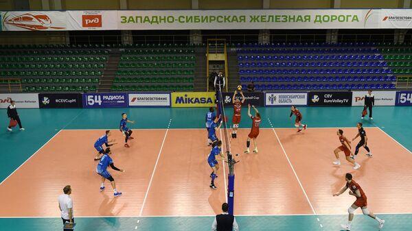 Матч Локомотив (Новосибирск) - Зенит (Санкт-Петербург)