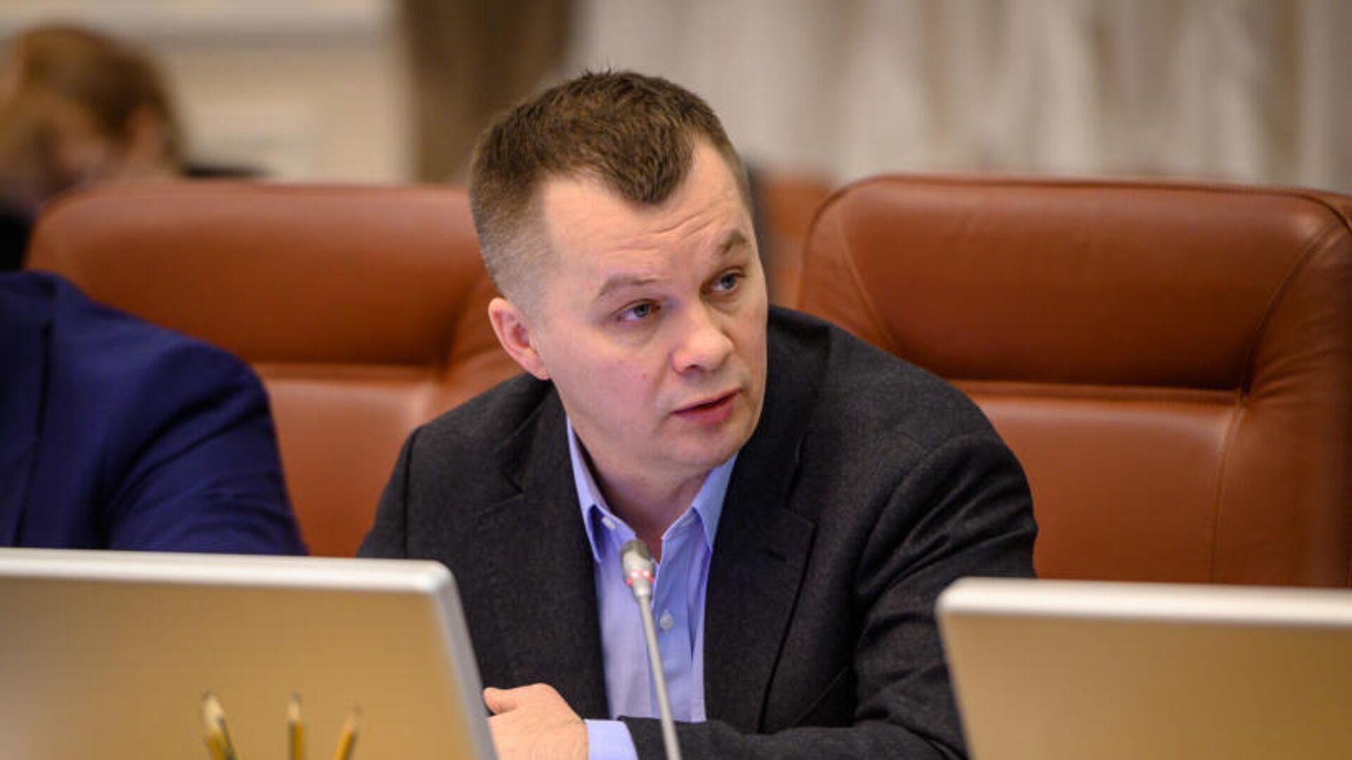 Министр развития экономики, торговли и сельского хозяйства Украины Тимофей Милованов - РИА Новости, 1920, 15.02.2021