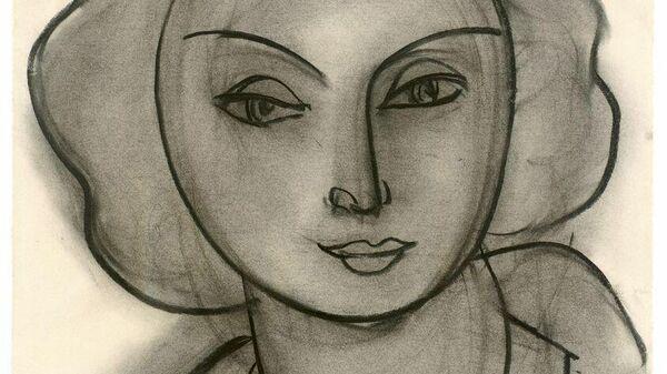 Анри Матисс. Женский портрет (Л.Н. Делекторская). 1945. ГМИИ им. А.С. Пушкина