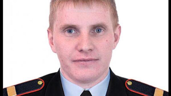 Старший сержант полиции Владимир Тафинцев, погибший при нападении на женщину в Волгограде