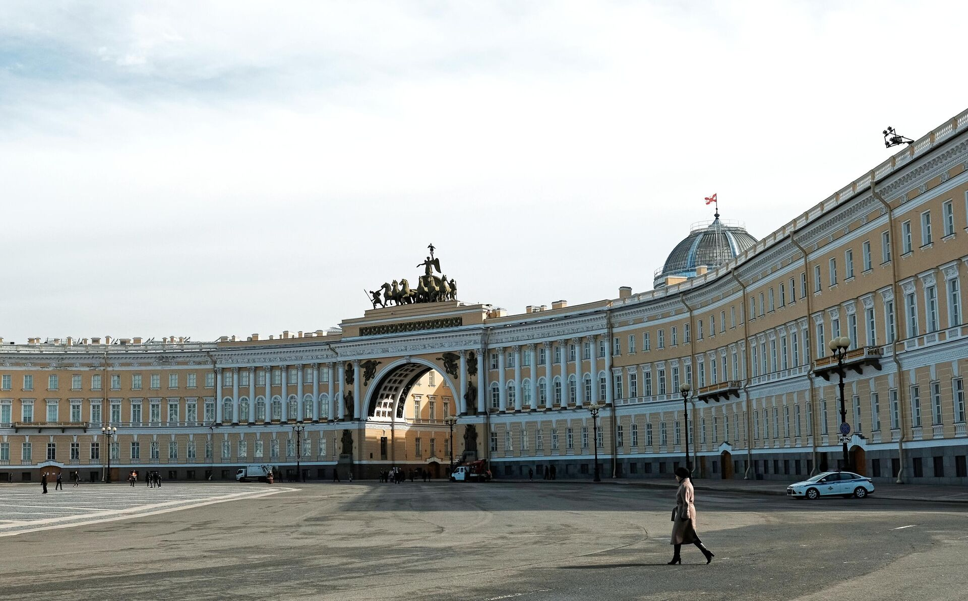 Дворцовая площадь в Санкт-Петербурге - РИА Новости, 1920, 13.09.2020