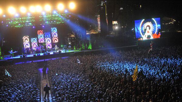 Выступление группы R.E.M.  в 2008 году