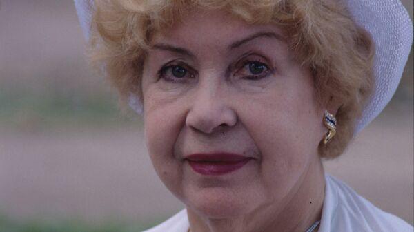 Народная артистка СССР Инна Макарова