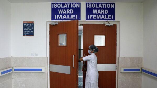 Изолятор для пациентов с симптомами коронавируса в больнице
