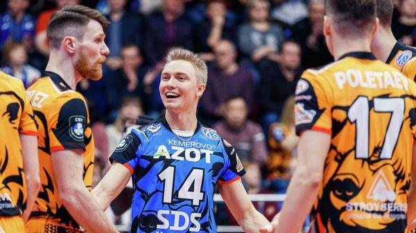 """Волейболист """"Кузбасса"""" Керминен планирует вернуться в Финляндию"""