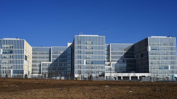 Здание больницы в Коммунарке