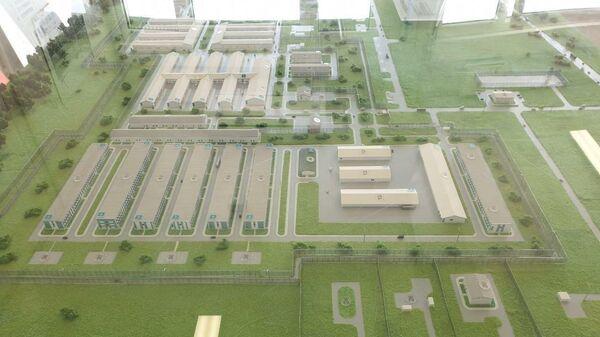 Проект медицинского центра по сдерживанию коронавируса в поселении Вороновское в ТиНАО Москвы