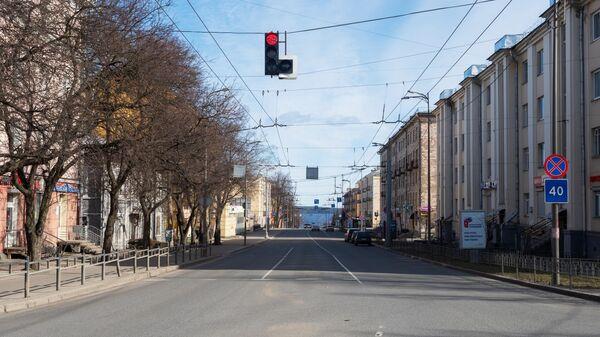Проспект Ленина в Петрозаводске