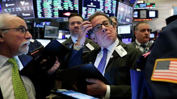 Торги на фондовой бирже в Нью-Йорке