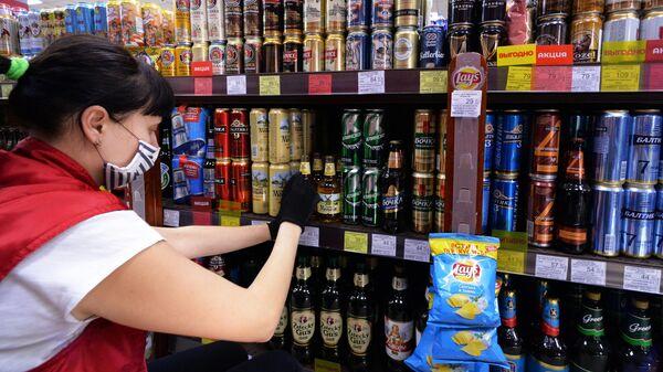 Продавщица в винно-водочном магазине в Красноярске