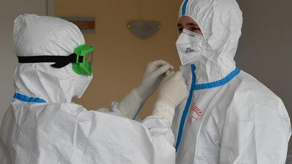Медицинские работники в стационаре