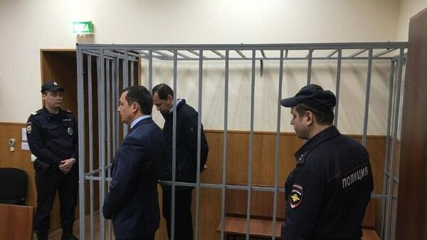 Александр Бирюков в суде