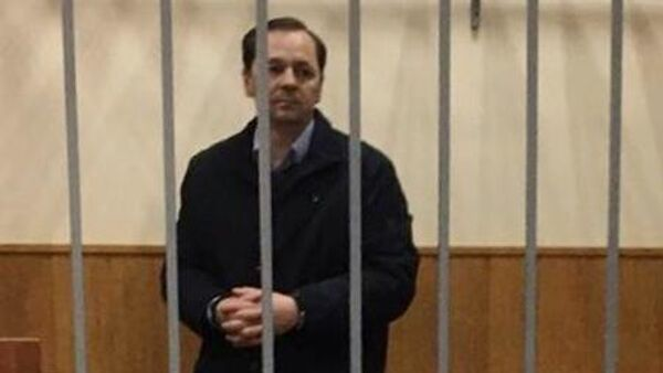 Заместитель главы Следственного департамента (СД) МВД РФ генерал Александр Бирюков в суде