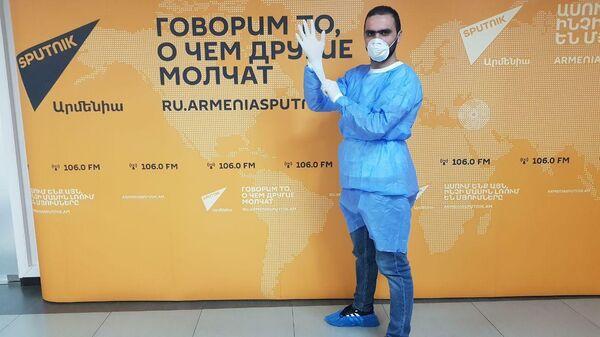 Работа редакции Sputnik Армения в условиях карантина по коронавирусу