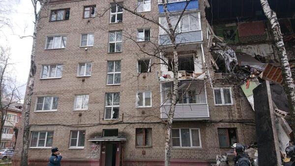 Взрыв газа произошел в пятиэтажке в подмосковном Орехово-Зуево