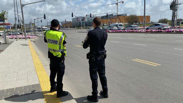 Полицейский рейд в Израиле