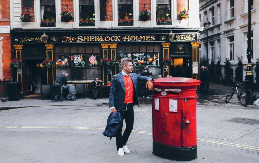 Митя Фомин в Лондоне