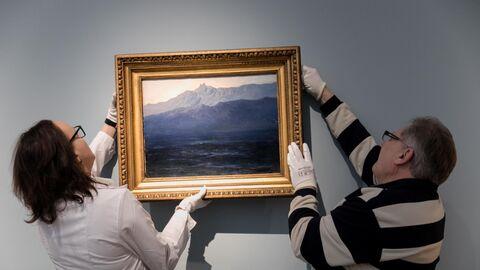 Возвращение картины Куинджи Ай-Петри. Крым на выставку в Третьяковскую галерею