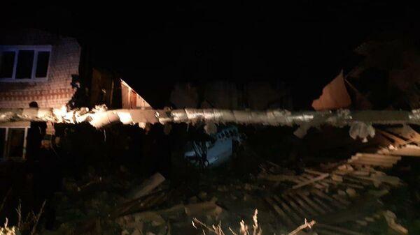 Трое госпитализированы после взрыва в доме в Нижегородской области