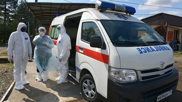 Медики в Абхазии