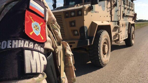 Совместное российско-турецкое патрулирование участка трассы М-4 в зоне Идлиб