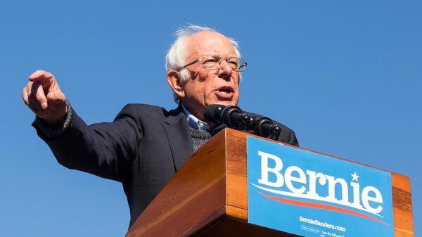 Кандидат в президенты США от Демократической партии Бернард Сандерс
