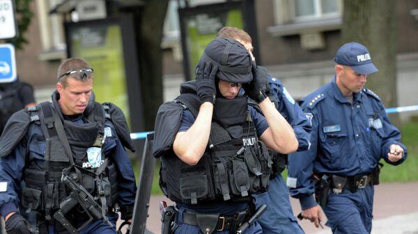 Сотрудники правоохранительных органов в Эстонии