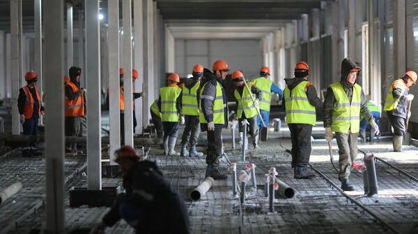 Строительство многофункционального медицинского центра Министерства обороны РФ в Волгограде