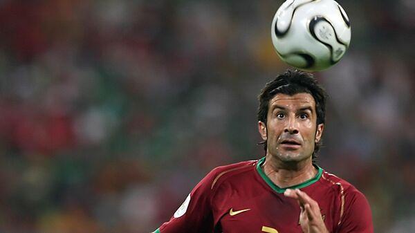 Капитан сборной Португалии Луиш Фигу