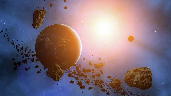 Потенциально опасный астероид приближается к Земле