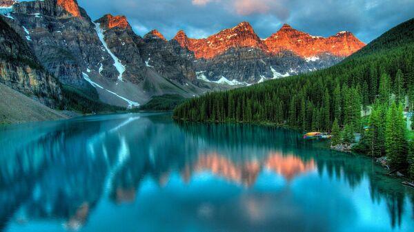 Национальный парк Банф в провинции Альберта, Канада