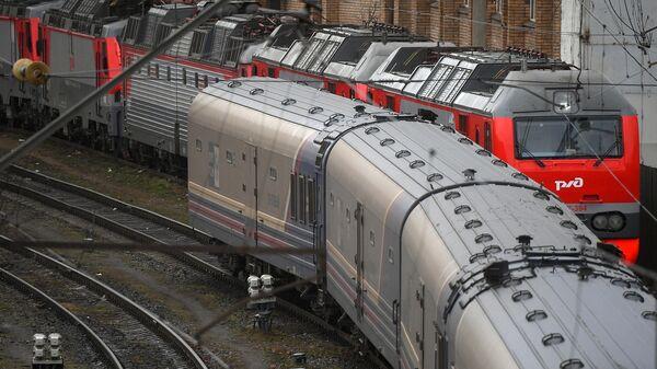 Пассажирские поезда РЖД