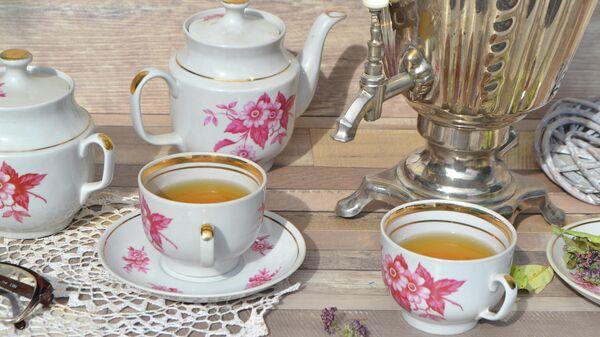 Чаепитие в русском стиле