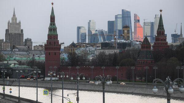 Москва во время режима самоизоляции жителей